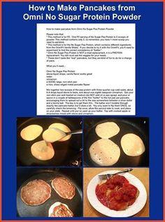 Actual recipe for P2 pancakes