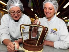 Photos - Google  Fit for a Queen... Cadbury World have recreated the Imperial State Crown out of Cadbury chocolate to celebrate the Queen's Diamond Jubilee .