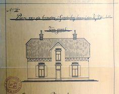Goedenberg; Bouwtekening gevel Van, How To Plan, Home Decor, Decoration Home, Room Decor, Vans, Home Interior Design, Home Decoration, Interior Design