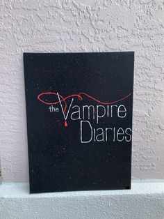 Small Canvas Paintings, Easy Canvas Art, Mini Canvas Art, The Vampire Diaries, Galaxy Painting, Diy Painting, Vampire Drawings, Frida Art, Quilled Paper Art