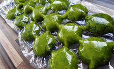 Kräuter einfrieren - Low Carb Rezepte mit wenig Kohlenhydraten sprich kohlenhydratreduziert.