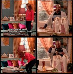 When he claimed a present was from him — and swiftly recovered. | Community Post: 17 Times Titus Andromedon Lived Life To The Absolute Fullest