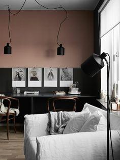 Carrara arr t de porte 60 cadrage c 300 plinthe p 500 for Peindre une piece en deux couleurs