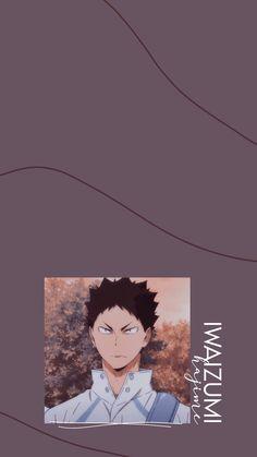 Haikyuu Iwaizumi, Haikyuu Manga, Haikyuu Characters, Anime Characters, Anime Lock Screen, Haikyuu Wallpaper, Character Wallpaper, Anime Stickers, High Quality Wallpapers