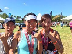 さとうあつこのハワイ不動産: 2016 Honolulu Triathlon 5年連続完走できました