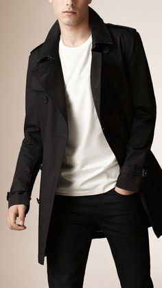 28504d286a0 Cotton Twill Trench Coat Best Mens Fashion