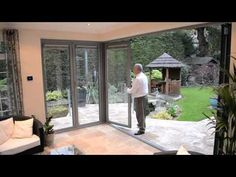 Origin Bifold Door moving corner post set, for unique openings in your house to the patio. Mark Greenwood will explain how. #Bi-fold
