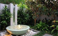 Resultado de imagen para jardines modernos con bambu