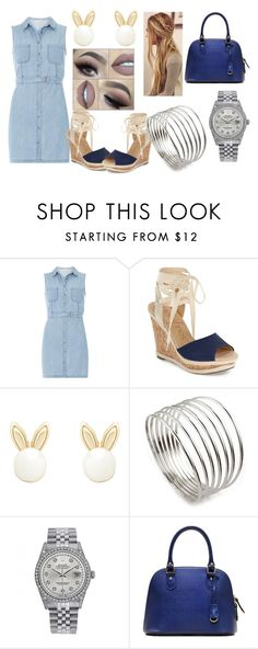 """""""SSD"""" by shiningpearl08 on Polyvore featuring Dorothy Perkins, Sole Society, Lipsy, Fantasy Jewelry Box and Rolex"""