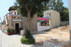 Telendos island facing Myrties on Kalymnos island in Greece. A quiet, laid back, friendly, welcoming kind of island. Right next to Kalymnos. Greece Islands, Patio, Outdoor Decor, Home Decor, Decoration Home, Room Decor, Home Interior Design, Home Decoration, Greek Islands