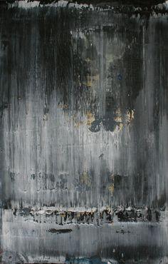 Koen Lybaert; Oil, 2012, Painting abstract N° 452