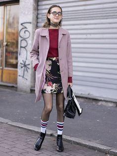 Best Street Style at Milan Fashion Week Fall 2017   POPSUGAR Fashion Photo 70