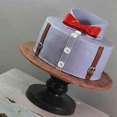 The perfect cake for the perfect gentleman