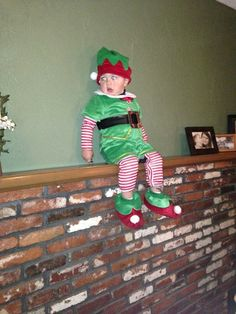 Human Elf on a Shelf