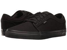 Vans Chukka Low at Zappos.com Vans Skate, Mens Skate Shoes, Vans Chukka Low, Shoes Sneakers, All Black Sneakers, Vans Shoes, Skate Style, Footwear, Slip On