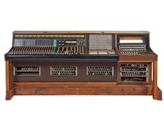 Les Paul's Recording Console. It would be super awesome to build something like this
