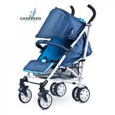 Golfový kočárek CARETERO Moby blue 201 z bazaru za 2390 Kč | Dětský bazar.cz