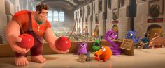 How Many Video Game Characters Can You Spot In This Image From WRECK-IT RALPH?