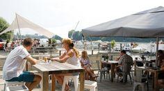 11 ziemlich gute Orte für ein Frühstück im Freien | Mit Vergnügen Berlin Berlin, Restaurant, Patio, Outdoor Decor, Trips, Travel, Food, Love, Cool Beer