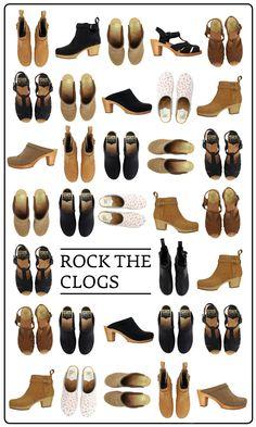 Clogs, clogs, CLOGS!