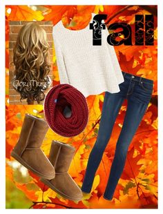 """""""fall"""" by girlthingss on Polyvore featuring rag & bone, MANGO, UGG Australia and Keds"""