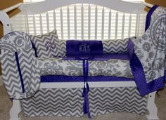 CUSTOM BABY BEDDINGAva set by BabiesNBaubles on Etsy, $435.00