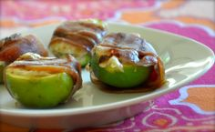 Figs in a blanket are so good, pop them on the grill and they are even better.  Use goat, blue or brie