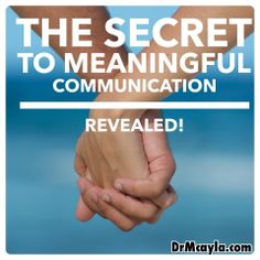 To communicate you must connect! Problems in communication do not occur because people are unable to figure out effective methods of communication. In fact, people in relationships don't have communication problems at all, though it can often feel that way when it feels like everything you say comes out wrong or is taken the wrong way. It is more accurate to say instead that distressed, unhappy, or failing relationships have CONNECTION problems.