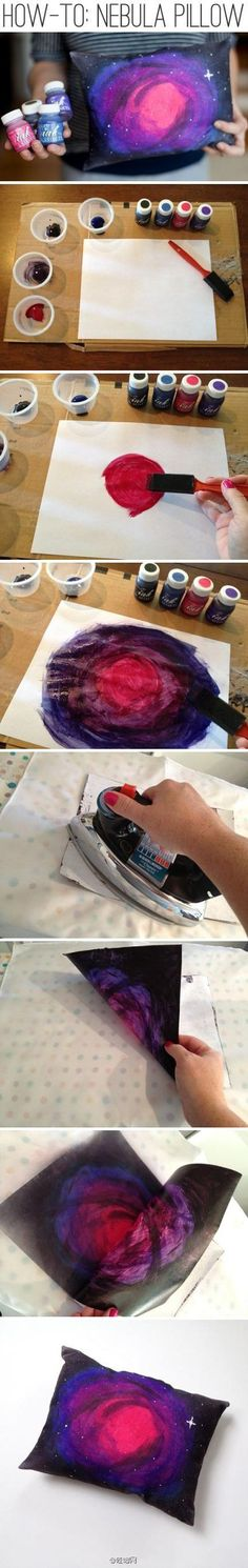 Link: http://blog.whimseybox.com/how-to-make-a-nebula-pillow-using-ink-effects-from-decoart