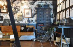 Steampunk X Vintage-ish interior