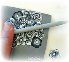 Polymer clay Tutorials for canes.  Take a peak to get the basics.  Difference between the glass beads I make and poly-clay is that it's more forgiving, and everything doesn't happen in 5 seconds at over a 2k degree torch.  @Laura Terry @Jean Myers.