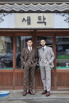 Suit Fashion, Daily Fashion, Mens Fashion, Style Fashion, Sharp Dressed Man, Well Dressed Men, Suit Man, Asian Male Model, Male Models