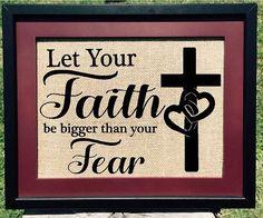 Let Your Faith Print  #FAITH #CHRIST #GOD #prayer #home #etsy #etsyteams