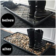 Muddy boot mat