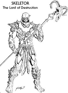 Pin by WaltorGrayskull on COLORING BOOK PAGES of the MOTU/POP ...