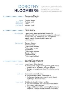 Resume Headers Glamorous Bubbly  Careers And Jobs  Pinterest  Free Resume