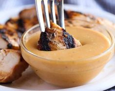 This delicious sauce is absolutely perfect for dipping your chicken! - This delicious sauce is absolutely perfect for dipping your chicken! Whole30 Fish Recipes, Easy Fish Recipes, Grilling Recipes, Meat Recipes, Cooking Recipes, Salad Recipes, Dinner Recipes, Soft Tortilla, Best Sauce Recipe