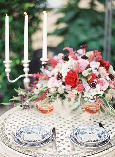 Romantic French Garden Inspiration. Photography: Marissa Lambert - marissalambertphotography.com #tablescapes, #plates