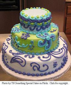 Modern Wedding Cakes - Topsy Turvy Cakes