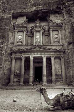 Las nuevas siete maravillas del mundo Petra Jordania