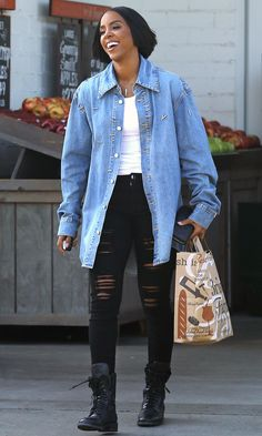 Celebrities in Denim: See Stars Wear Mother, J Brand, Good American, Parker Smith