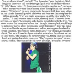 Niall omgggggg kill me now.......... this is just torture for me to read this or even imagine something like this why can't it be real :'( xxx