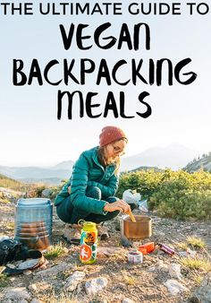 Camping Food Hacks: A list of 50 vegan backpacking meal options, complete with nutrition info! This is an awesome resource when planning your backpacking menus. Camping Info, Camping Bbq, Camping And Hiking, Camping Meals, Camping Hacks, Camping Stuff, Camping Cooking, Camping Guide, Camping Supplies