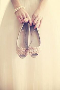 Flat Wedding Shoes | Flat Bridal Pumps | Bridal Musings Wedding Blog 11