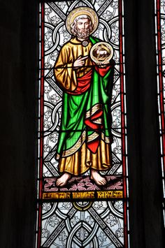 Fifield St John Baptist Stained glass by Wailes 1852 of Newcastle -68 http://www.bwthornton.co.uk/visiting-stratford-upon-avon.php