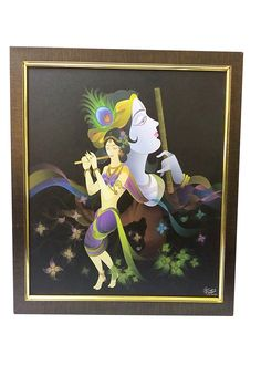 #Radha-#Krishna #Canvas #Frames By ReturnFavors.