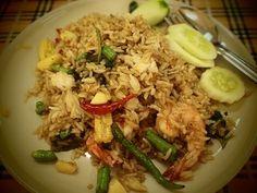 อาหารคลีน เมนูอาหารประเภทผัด เมนูอาหาร ข้าวผัดกุ้งสูตรคลีน ขั้นตอน วิธีการทำข้าวผัดกุ้งสูตรคลีน