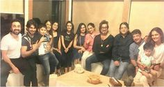 Shraddha clicks a lovely pic with her entire family as they come together for her pre-birthday bash. http://www.glamoursaga.com/shraddha-kapoors-pre-birthday-bash/