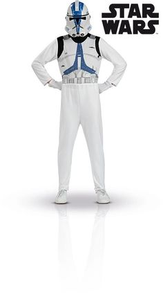 94c255ebd8b79 Rubie's Official Child Star Wars Stormtrooper Deluxe Costume ...