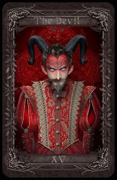 The Devil card by Maxinesimaginarium on DeviantArt